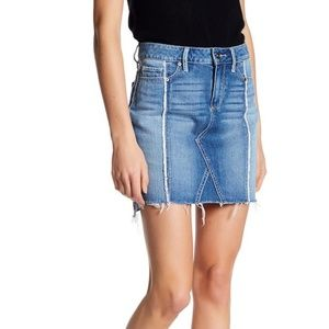 PAIGE Chiara Denim Skirt Size 28